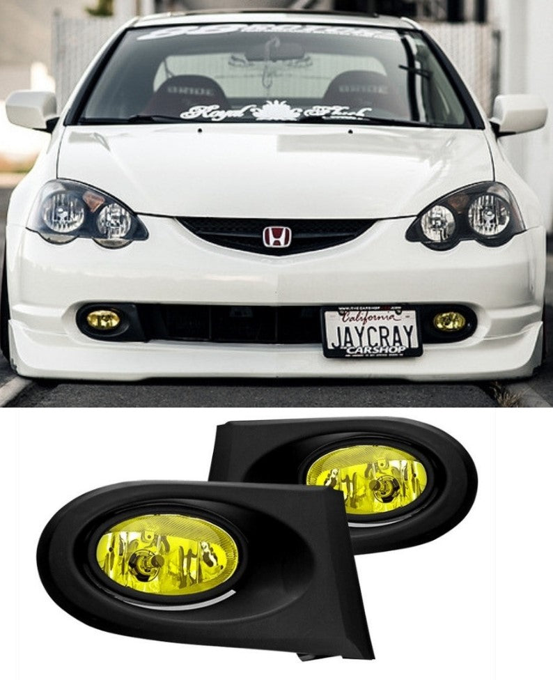 Honda Integra DC5 Pre-Facelift - Fog Lights (YELLOW) (01-04) - ELITE GARAGE
