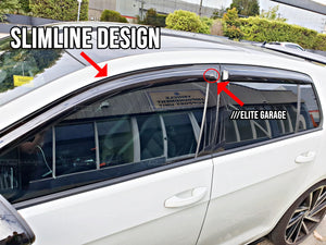 Mazda CX-3 (15-19) Window Visors / Weathershields / Weather Shields - ELITE GARAGE