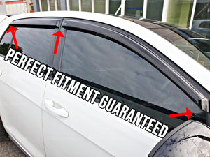 Mazda 3 Sedan (13-18) Window Visors / Weathershields / Weather Shields - ELITE GARAGE