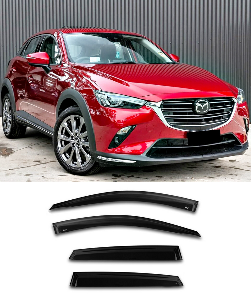 Mazda CX-3 - Side Visors (15-19) (Elite Garage) - ELITE GARAGE