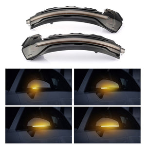 Audi A3 / S3 / RS3 - Sequential Side Mirror LED Indicators (SMOKED) (13-19) - ELITE GARAGE