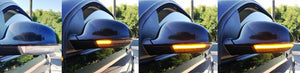 Volkswagen Golf MK5 - Sequential Side Mirror LED Indicators (SMOKED) (03-08) - ELITE GARAGE