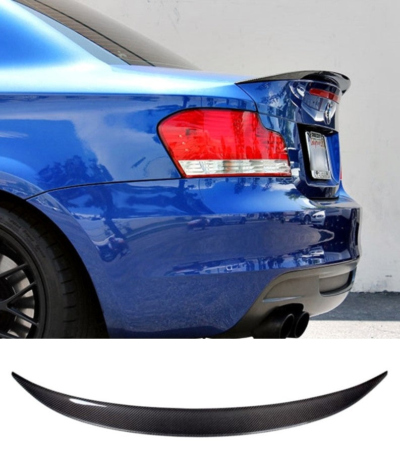 BMW 135i - Rear Trunk Spoiler (CARBON FIBER) - ELITE GARAGE