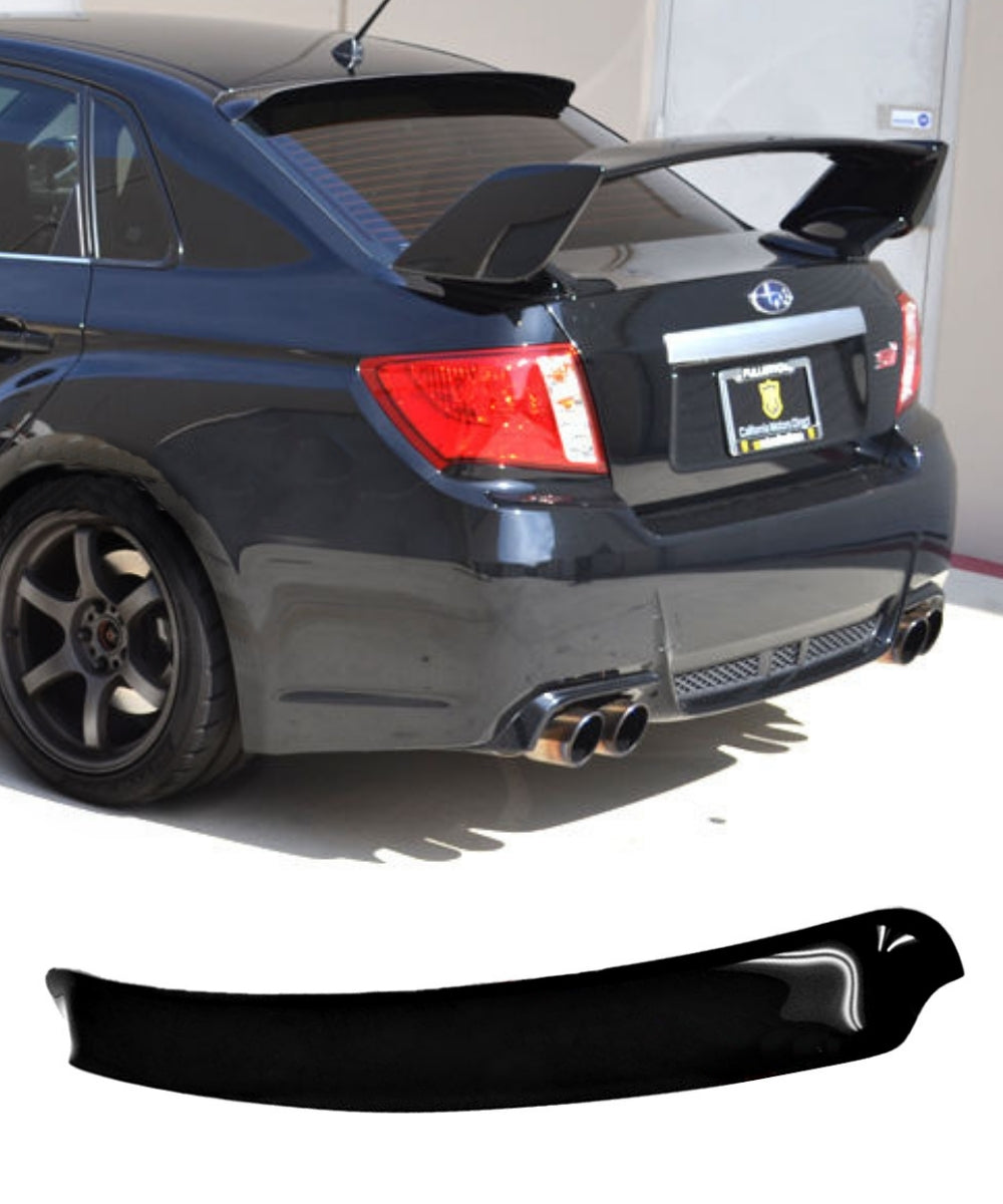 Subaru Impreza WRX STI G3 (08-14) Rear Roof Visor Spoiler Weathershields - ELITE GARAGE
