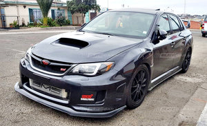 Subaru Impreza WRX STI Widebody - Front Lip (GT V2) (11-14) - ELITE GARAGE
