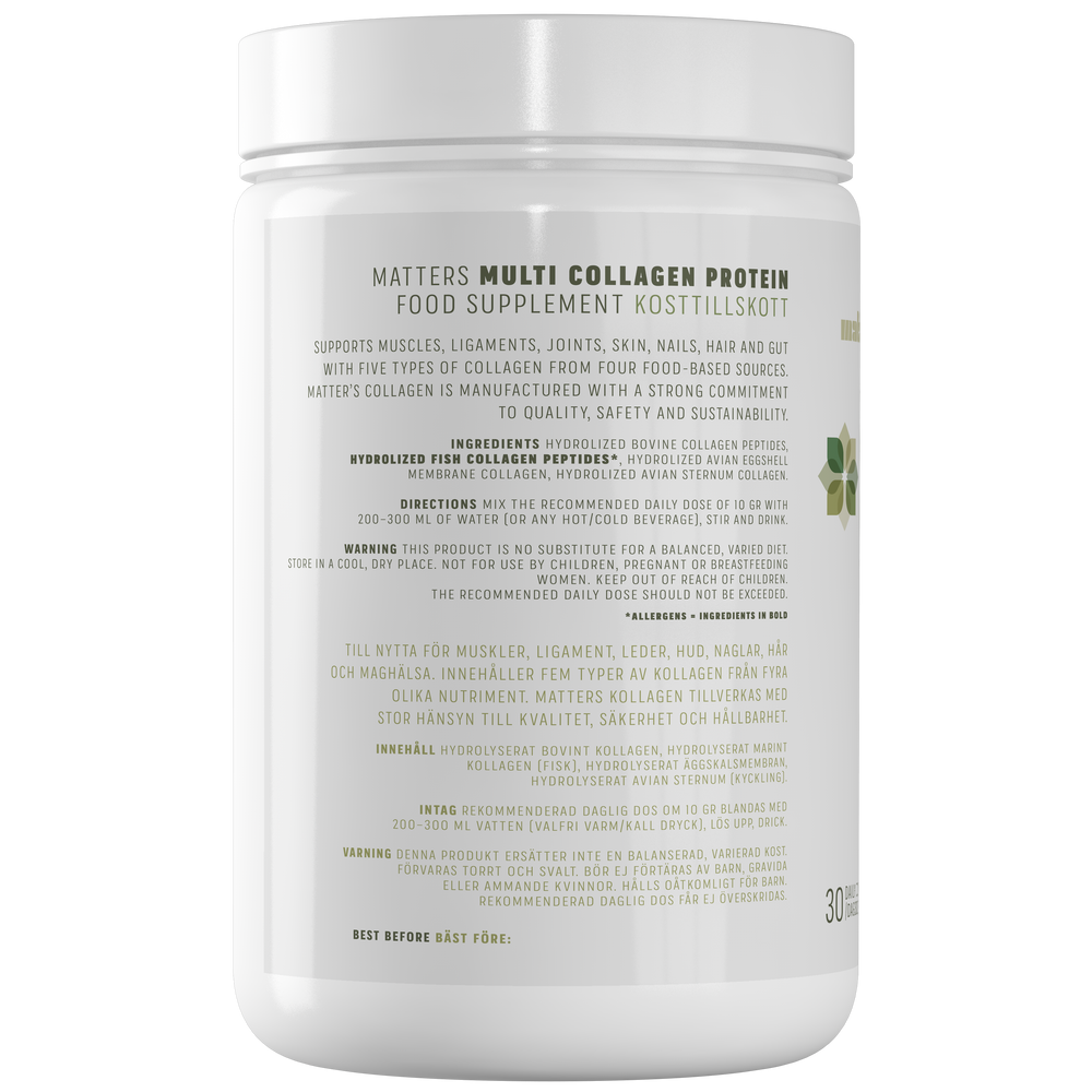 Whole Food Multi-Collagen Protein 300 G