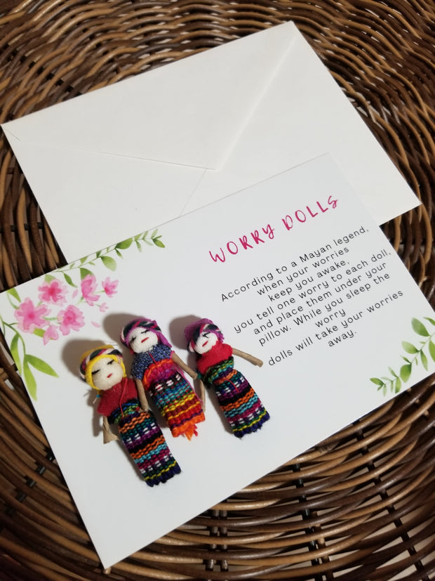 Worry Dolls Card
