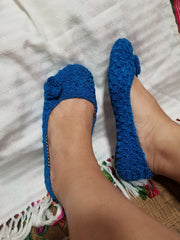 Size 6M  Crochet  Shoes