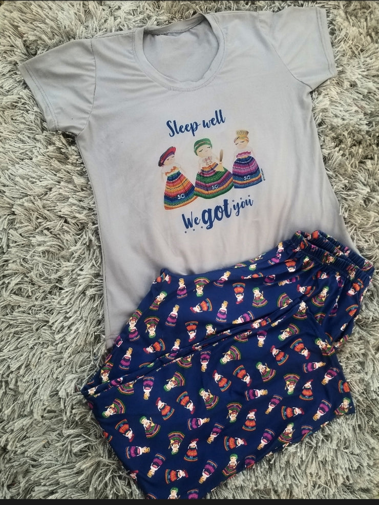 MEDIUM Worry Dolls Pajama