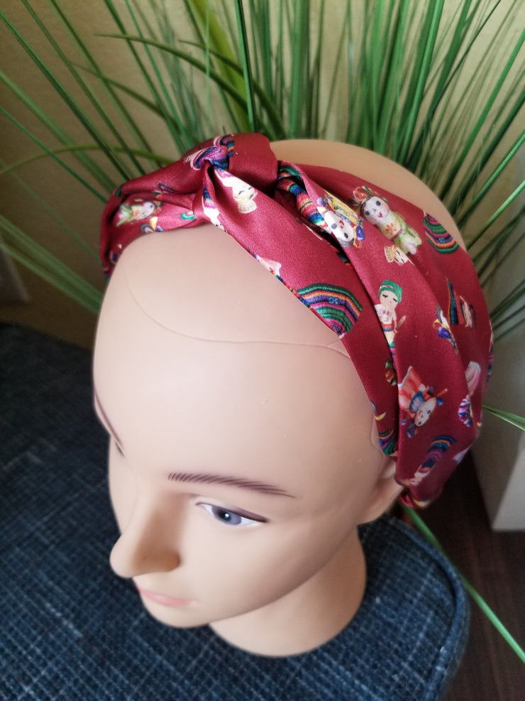 Silk Dolls Headband