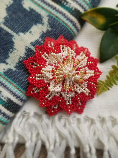 Beaded Barrette