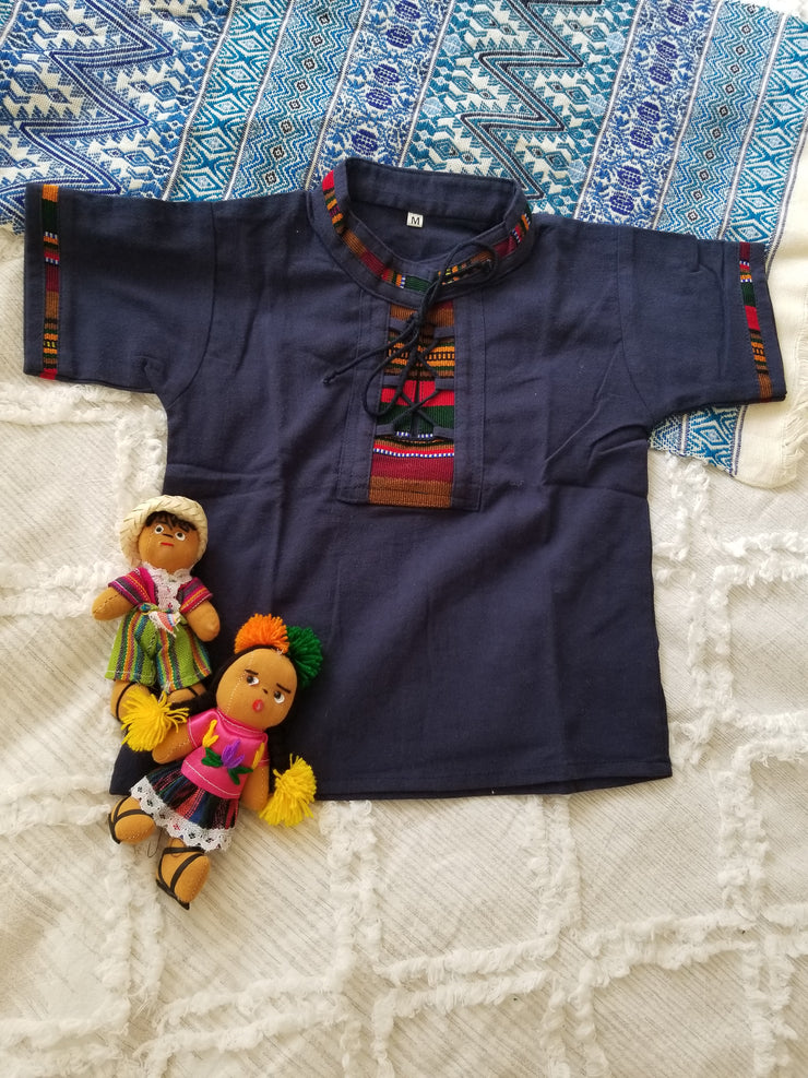 2 to 3 Years Old Unisex Guayabera