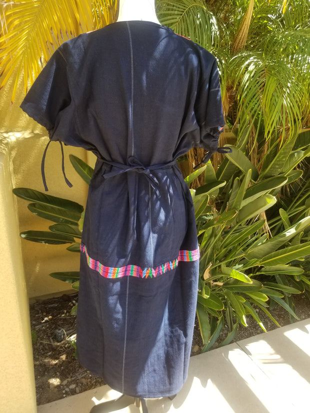 SMALL Dress with Huipil