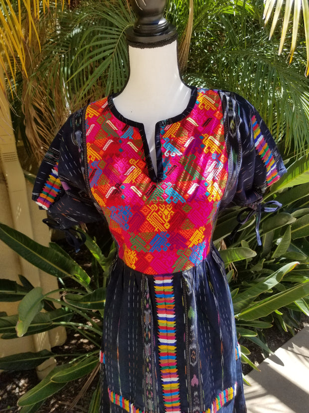 MEDIUM Dress with Huipil