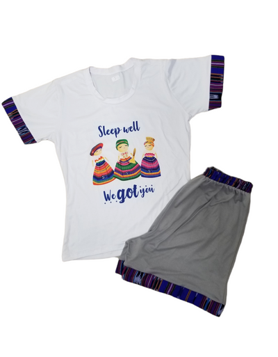 EXTRA LARGE Worry Dolls Pajama -SHORT
