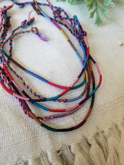 Silk Friendship Bracelet Set