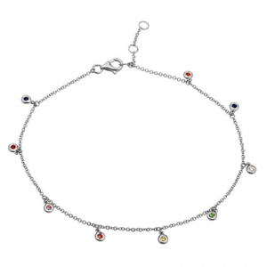 Rainbow Hangout Anklet