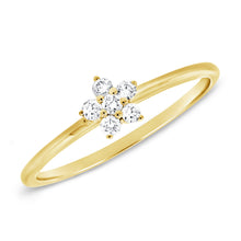 Load image into Gallery viewer, Delicate Daisy Ring