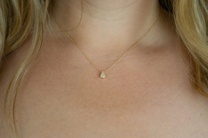The Perfect Pear Necklace
