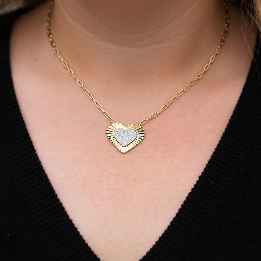 The Heart Link Necklace