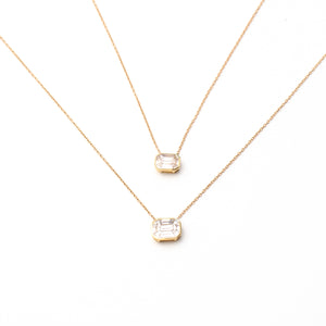 Beauty & The Bezel Necklace