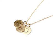 Load image into Gallery viewer, Initial Charm Necklace