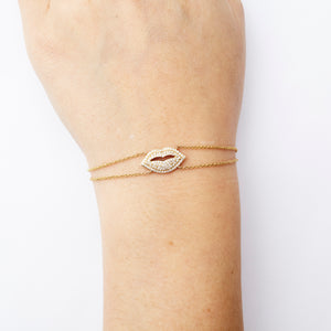 Juicy Lips Bracelet