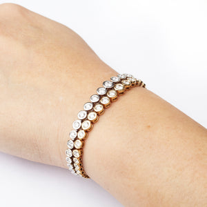 The Rachie Bezel Tennis Bracelet