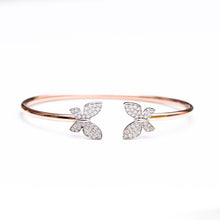 Load image into Gallery viewer, Butterfly Hug Bangle