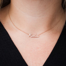 Load image into Gallery viewer, Custom Diamond Name Necklace