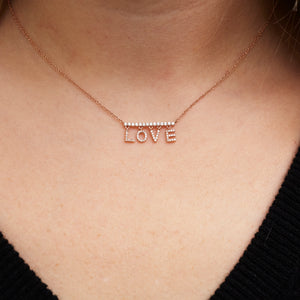 Dangling Love Necklace