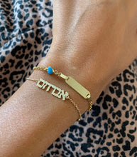 Load image into Gallery viewer, Custom Gold Name Bracelet