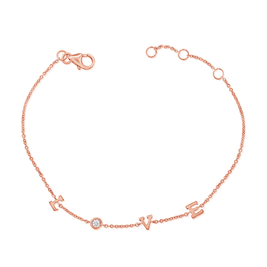 L is for LOVE Bracelet