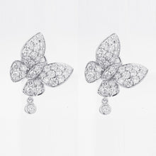 Load image into Gallery viewer, Butterfly Kisses Diamond Earrings