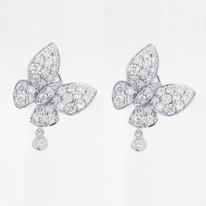 Butterfly Kisses Diamond Earrings