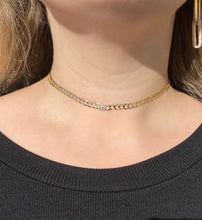 Load image into Gallery viewer, The Round Bezeled Choker