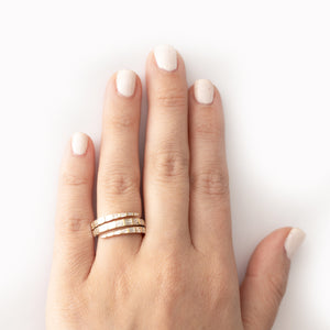 The Baguette Spiral Ring