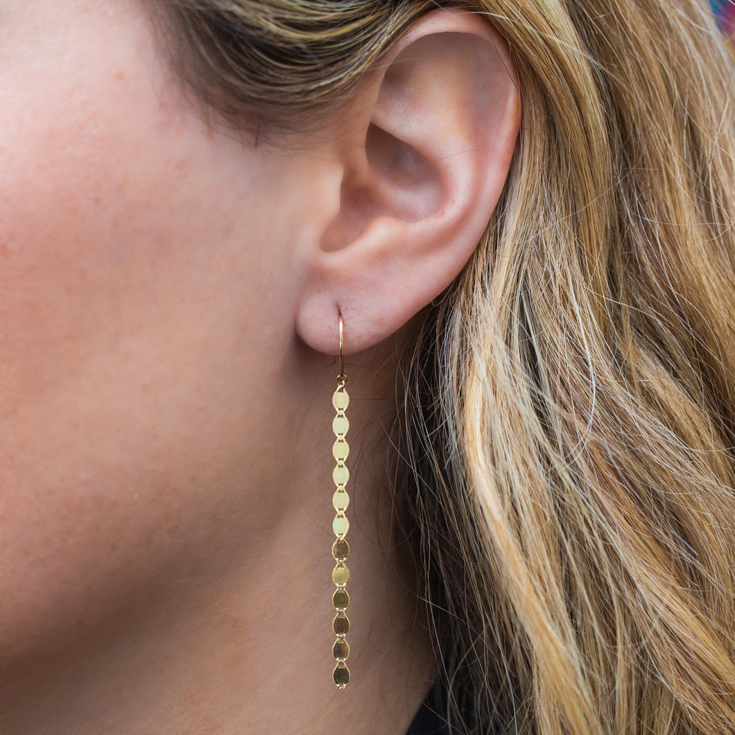The Glimmer Chain Earrings