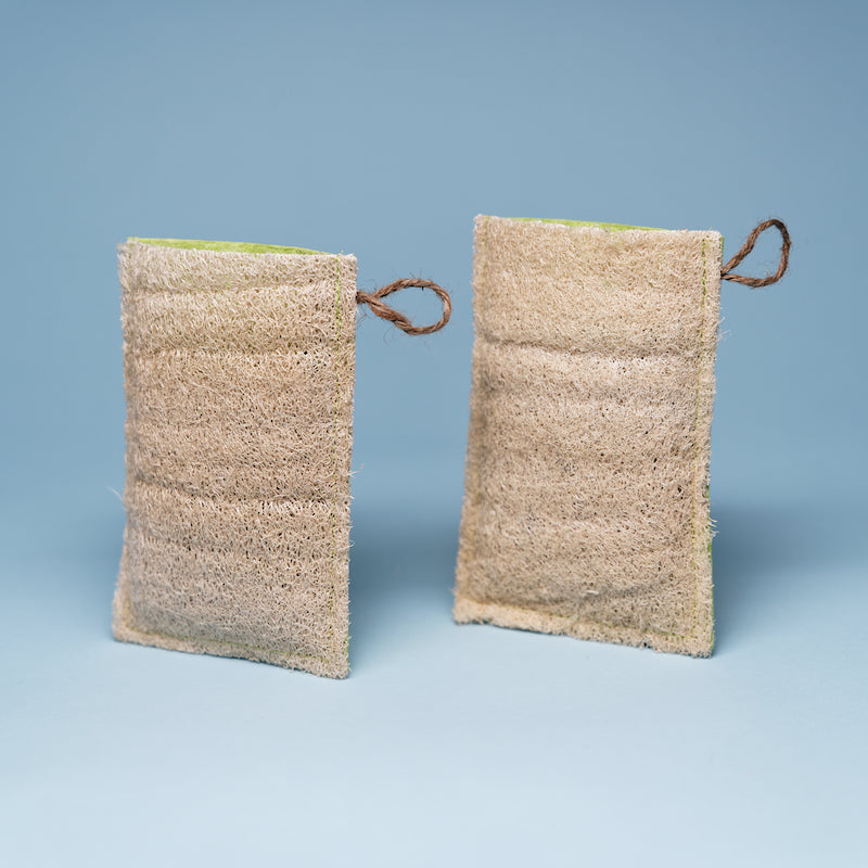 Loofah Soap Pouch (Soap Not Included)