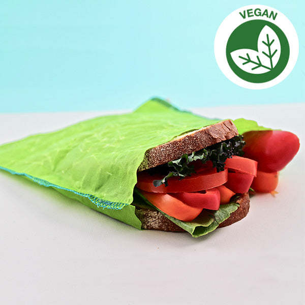 10 Vegan Reusable Sandwich Bags