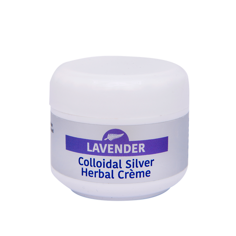 50g Lavender Colloidal Silver Herbal Crème - Colloidal Health Solutions Ltd