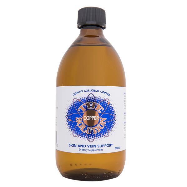 The Copper Solution - 500ml Colloidal Copper - Colloidal Health Solutions Ltd