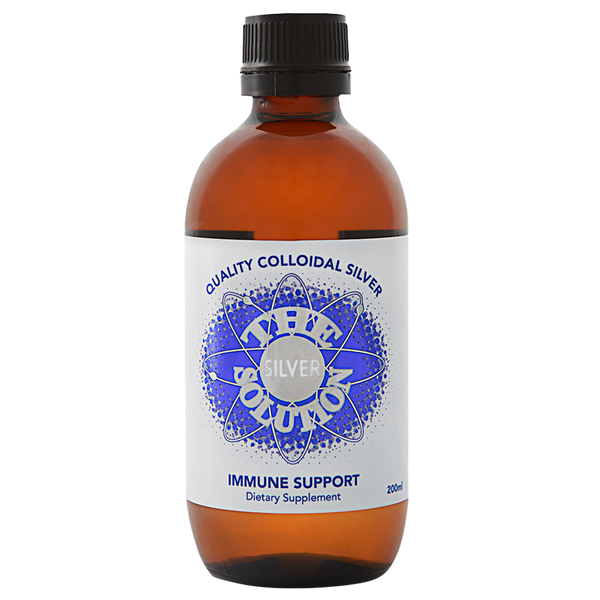 The Silver Solution - 200ml Colloidal Silver - 4health.co.nz