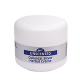 100g Unscented Colloidal Silver Herbal Crème - 4health.co.nz