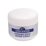 50g Unscented Colloidal Silver Herbal Crème - 4health.co.nz