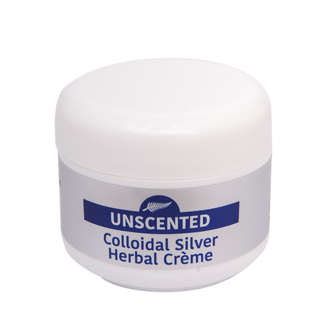 50g Unscented Colloidal Silver Herbal Crème - Colloidal Health Solutions Ltd
