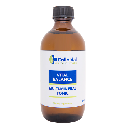 Vital Balance Multi-Mineral Tonic 200ml - Colloidal Health Solutions Ltd