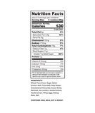 Thinsters Chocolate Chip, 4 oz (6 pack) ingredients