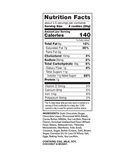 Thinsters Dark Chocolate Coconut, 4 oz (6 pack) nutrition label