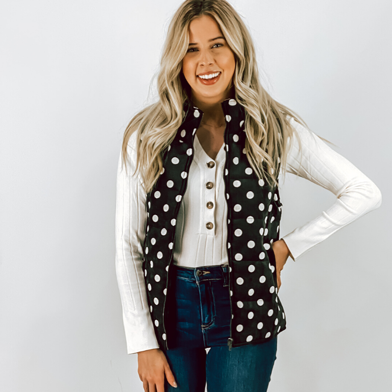 The Dottie Corduroy Vest